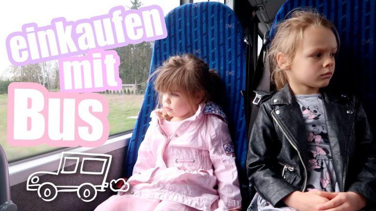 Mit dem Bus einkaufen - Anne Wünsche