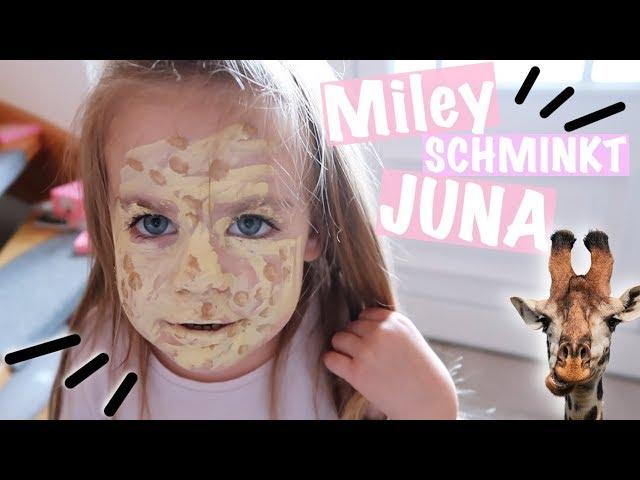 Miley schminkt Juna