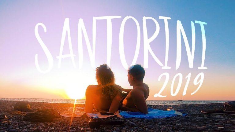 Anne Wünsche auf Reisen auf Santorini