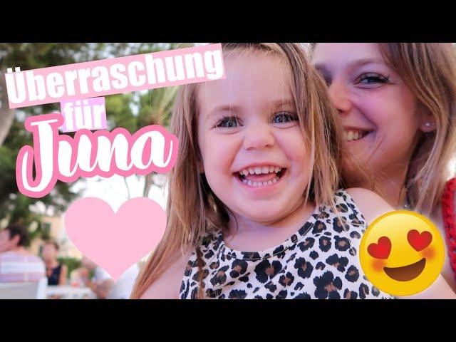 Überraschung für Juna: Wir fliegen nach Mallorca! - Jetzt Video laden!