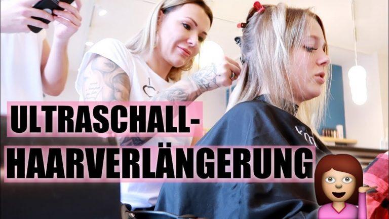 Ultraschall-Haarverlängerung bei Anne Wünsche